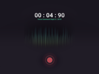 Voice Recorder Concept