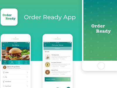 Orederready Mobile App UI by keyur on Dribbble