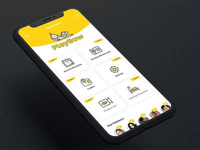 Freebie Dog Care App UI Design devoqdesign love animation animals psd download freebies clean dog care