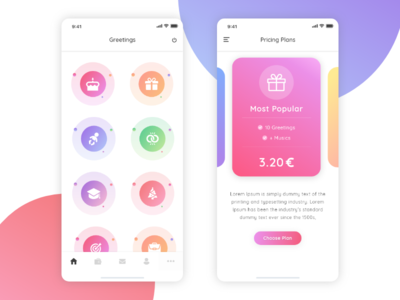 Freebie XD Colorful App Dashboard adobe xd xd freebies freebie food app flat  design typography branding clean icons illustrator app graphic design