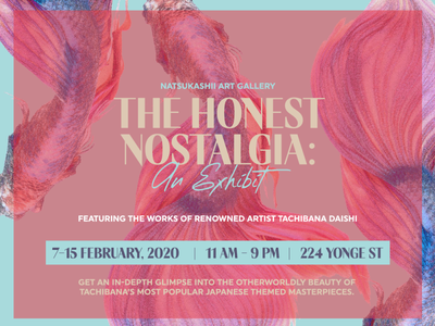 The Honest Nostalgia exhibit fish banner