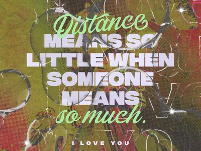 distance quote ad design canva poster banner