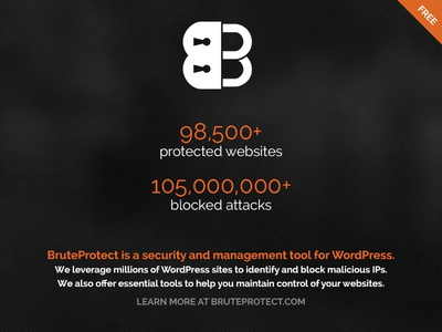 BruteProtect: WordPress Protection & Management
