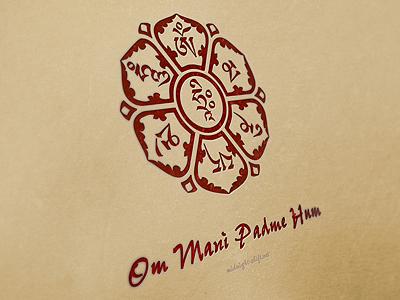 Om Mani Padme Hum By Jeff Golenski On Dribbble