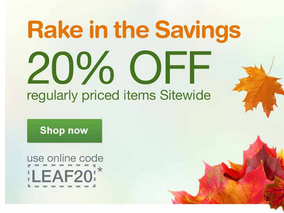 9/27/2015 Sitewide Sale walgreens