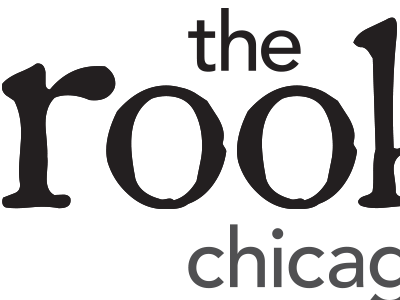 logo for the rookery - restaurant on chicago ave restaurant ave. chicago on rookery the