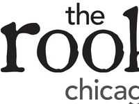 logo for the rookery - restaurant on chicago ave