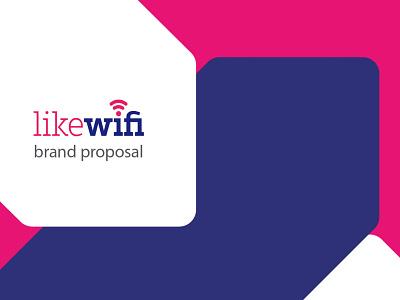 Like WiFi - Logo & Stationary brand identity