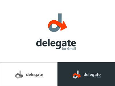 Delegate - Gmail extension - Logo gmail logo
