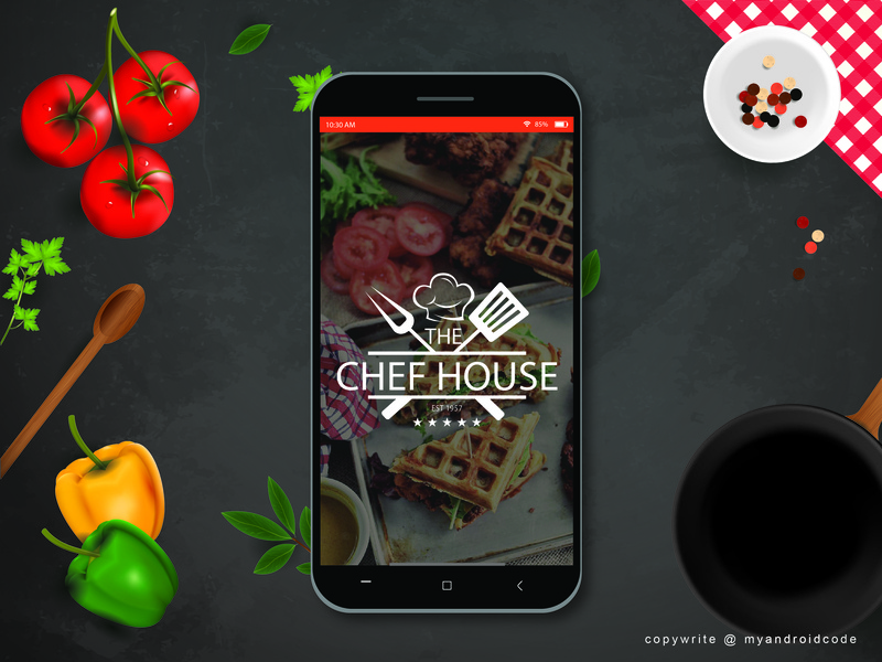 Chef House - Splash Screen by My Android Code on Dribbble