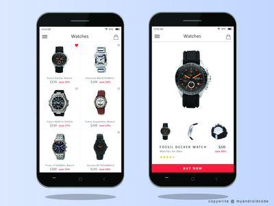 Android - Shopping Listview