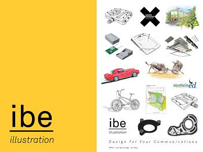 I Be Illustration Poster 2014 Sm illustration technicalillustration sketch user manual illustration