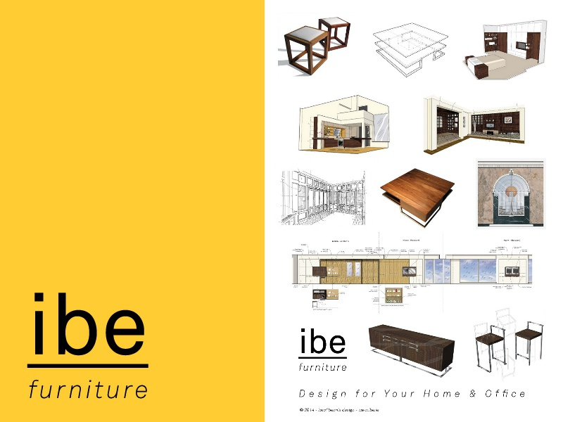 I Be Furniture Poster 2014 Sm by Iosaf Bennis - Dribbble