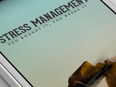 Stress Management design ios mobile ui iphone