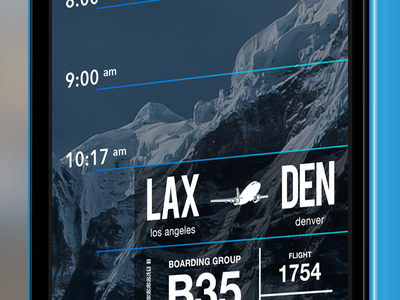 FauxCal app cal passbook ui iphone