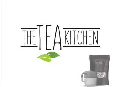 The Tea Kitchen  branding logo