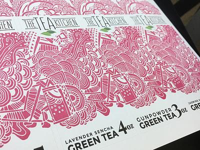 Tea Kitchen Labels
