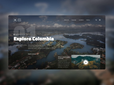 Travelling Website Transition travel agency travelling travel aftereffects motion design interfacedesign interface ui ux