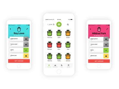Presentlist gifts app