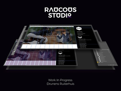 Drunens Equestrian Store - InProgress web ux design