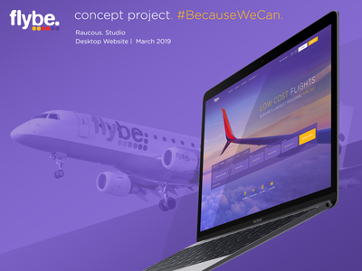 Flybe Concept Project #BecauseWeCan android app design android wear android website app branding design web ux webdesign desktop ui app design