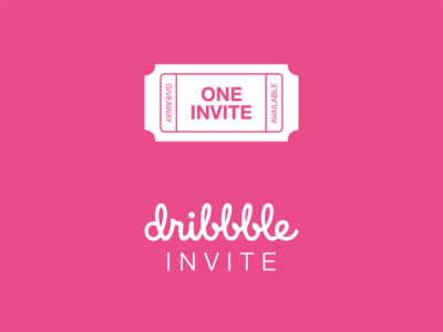 Dribbble Invite draft giveaway contest invite dribbble