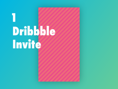 Dribbble Invite giveaway invite dribbble