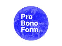 Pro Bono Form