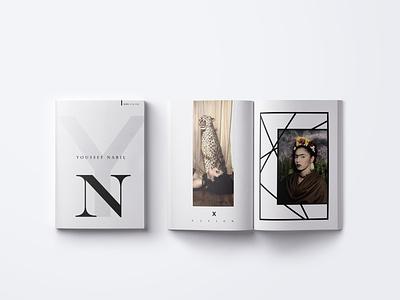 Art Exhibition Brochure branding graphic deisgn printdesign coverdesign layoutdesign print design