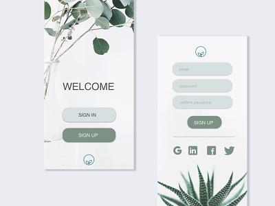 Sign up page UI design ui  ux design mobile interface design visualdesign uxdesign uidesign ui