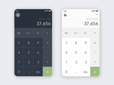 UI design challenge-calculator