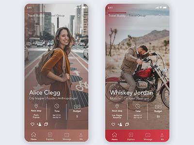 UI design challenge-user profile mobile design mobile design challenge ui challange branding ux  ui ux uxdesign uidesign ui interface design design