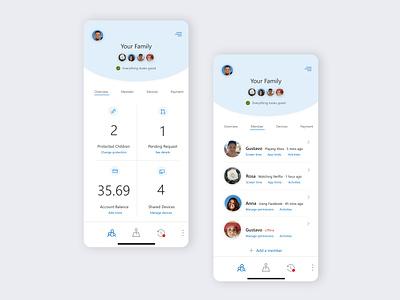 UI design-family safety app appdesign app mobile mobile design design challenge ui challange ux  ui ux uxdesign uidesign ui interface design design