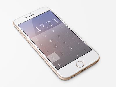 Daily UI: Calculator daily ui iphone numbers dailyui ui calculator