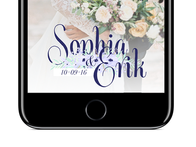 Wedding Snapchat Filter geofilter flowers purple love lettering wedding filter snapchat