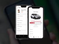 Toyota Prototype Concept product design car toyota android app iphone app iphone pixel prototype