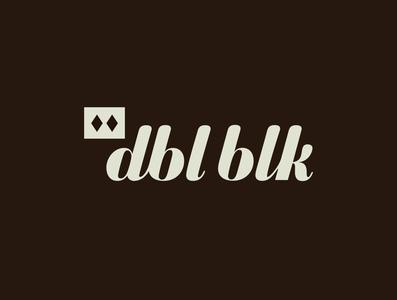 Cold Brew Coffee Branding - DBL BLK brand identity cocktail type design typography denver coffee logo design logotype logo branding vector design