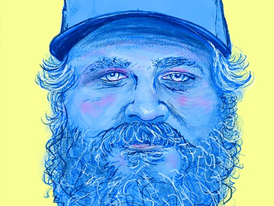 Draplin photoshop wacom art texture design illustration