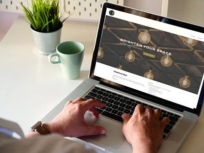 Optimum Website ux  ui illustration graphic design marketing website unionstrong contractor website design typography logo branding minimal