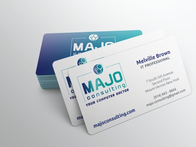 Majo Consulting logo typography illustration yonkersagency yonkersagency marketing agency branding become impressive hiremarthalynnlaskie professional it logo logo design marketing it professional