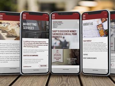 GCUSA App app vector ux graphic design marketing branding typography yonkersagency logo ui application ux ui