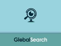 Globe Eye Logo