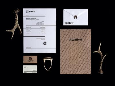 Antler Jewelry identity logodesign branding logo