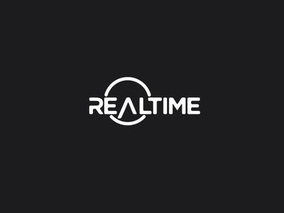 Realtime identity time clock tv branding logodesign logo