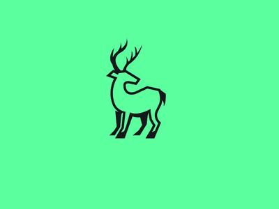 Deer branding identity logodesign logo animal deer