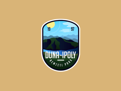 Danube-Ipoly National Park logo national park hungry badge