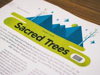 Sacred Trees (print)