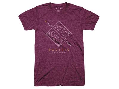 Pacific Northwest Compass Shirt