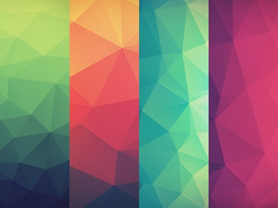 Free Wallpapers wallpaper poly gradient shapes series devices josh warren hope strength identity purpose