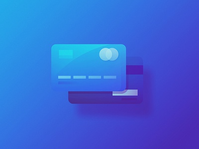 Credit or Debit money payment ux ui product design visual design shadow illustration mastercard creditcard